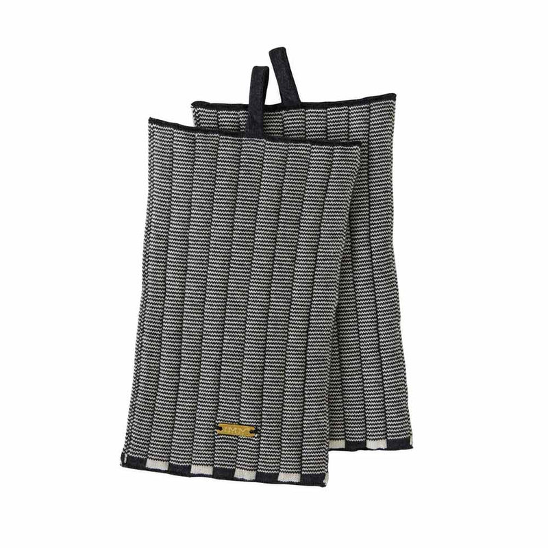 Set Of 2 Stringa Potholders in Anthracite