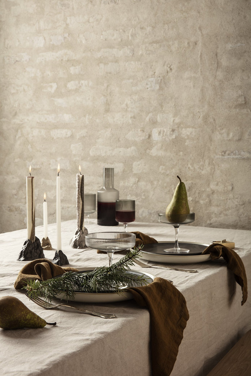 Stone Candle Holder by Ferm Living by Ferm Living