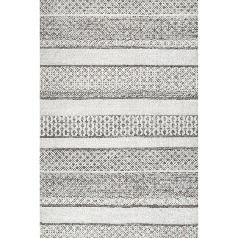 Kairi Lacy Stripes Outdoor Rug