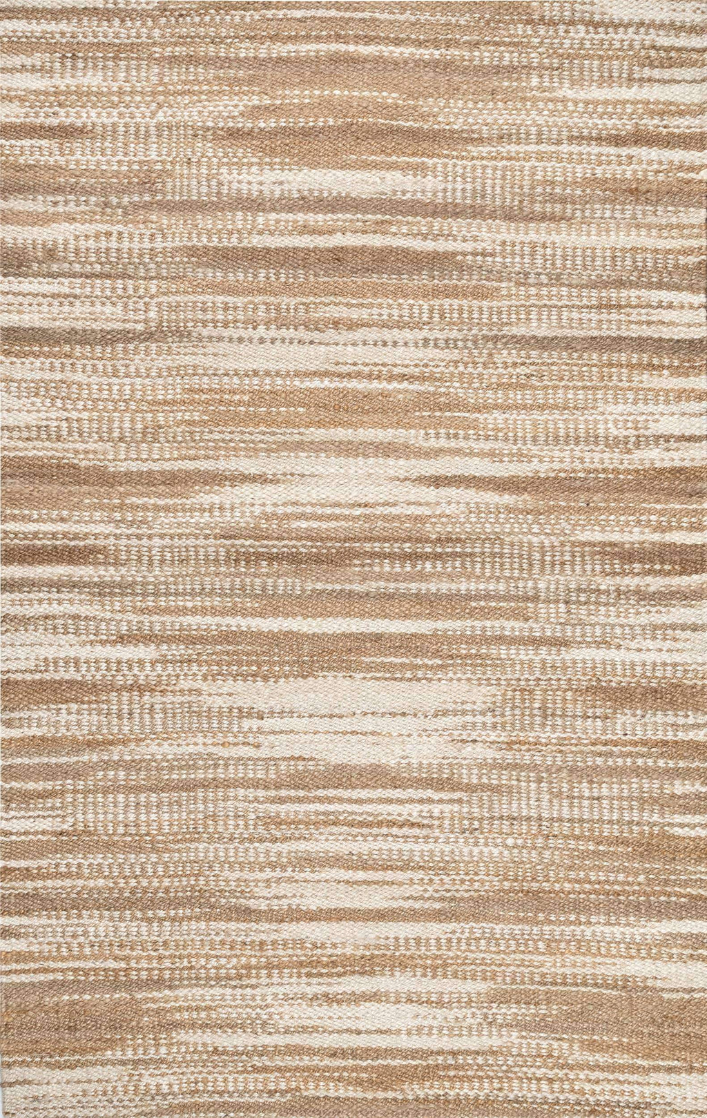 Hand Loomed Trinity Striped Jute Rug