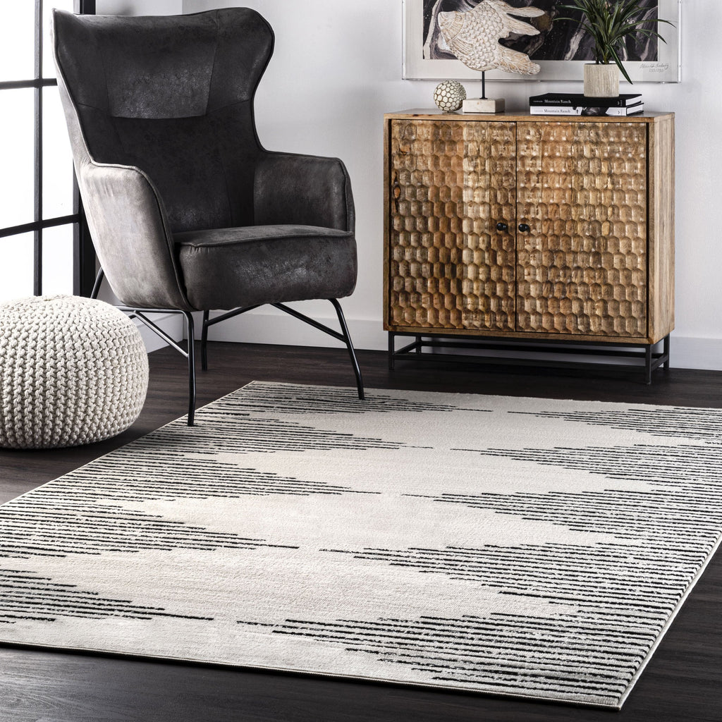 Romina Diamond Pinstripes Rug