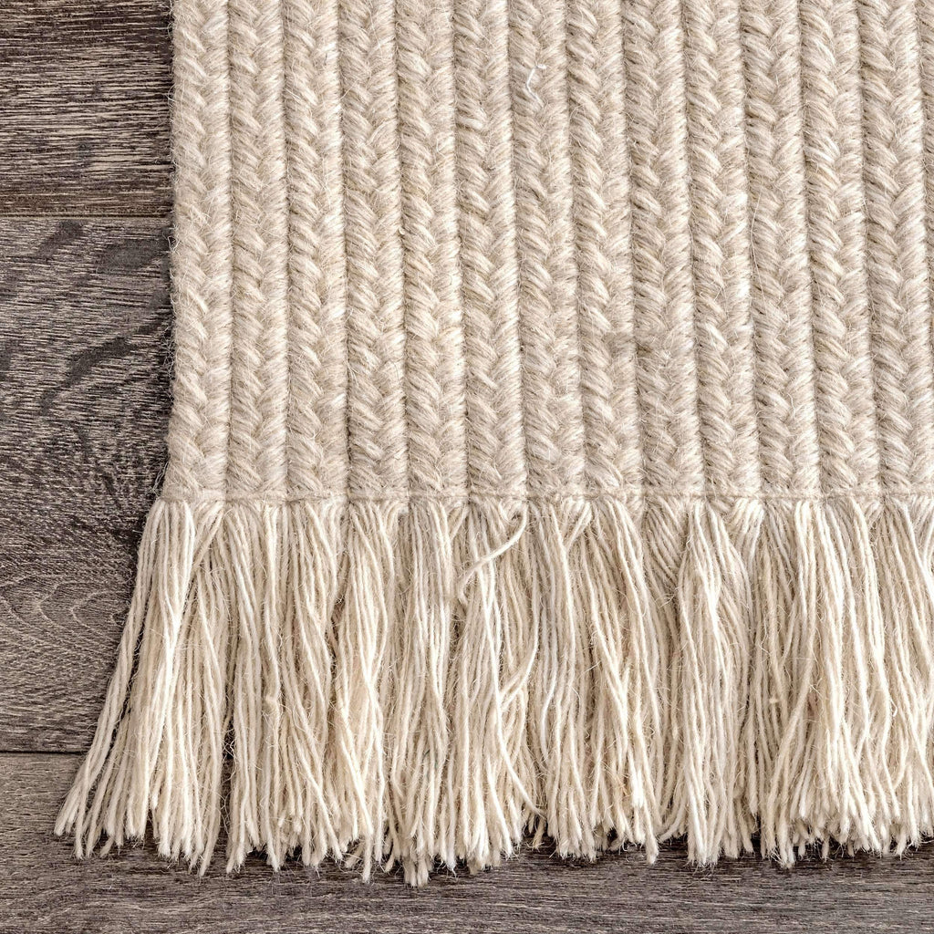 Sarai Braided Wool Indoor/Outdoor Rug