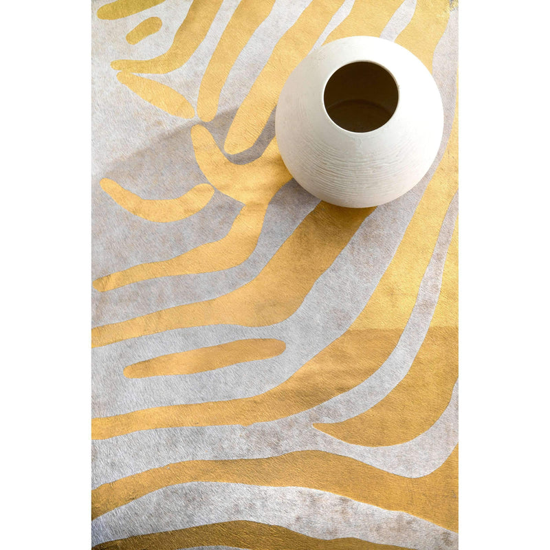Hand Made Goldie Cowhide Rug