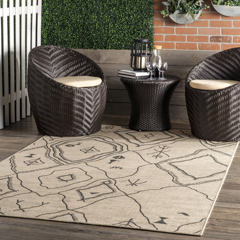 Azalea Tribal Indoor/Outdoor Rug