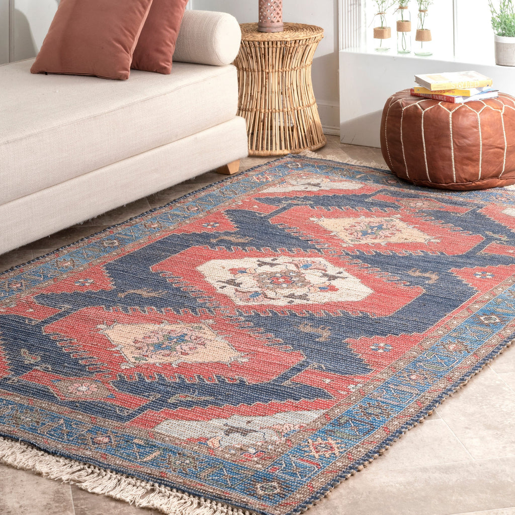 Archer Panelled Tribal Rug