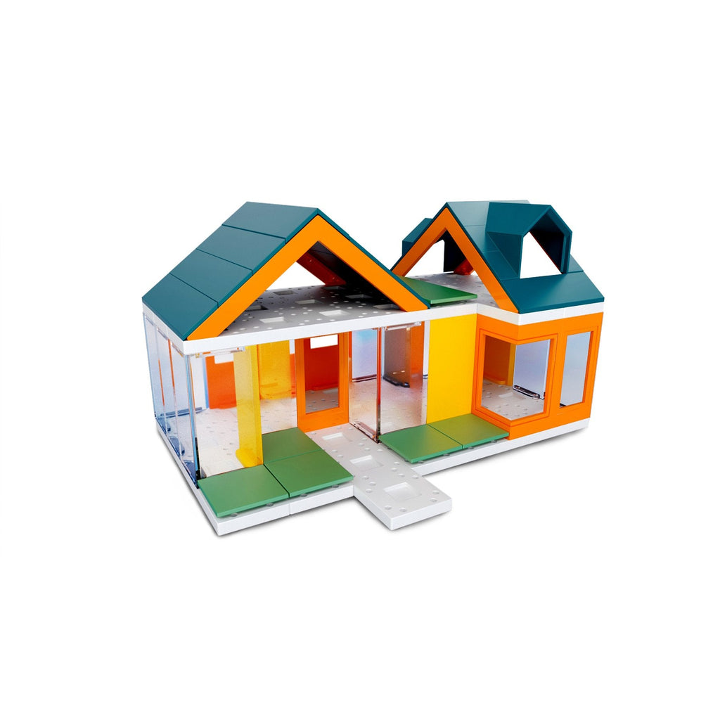 Mini Dormer Colors 2.0, Kids Architect Scale House Model Building Kit by Arckit