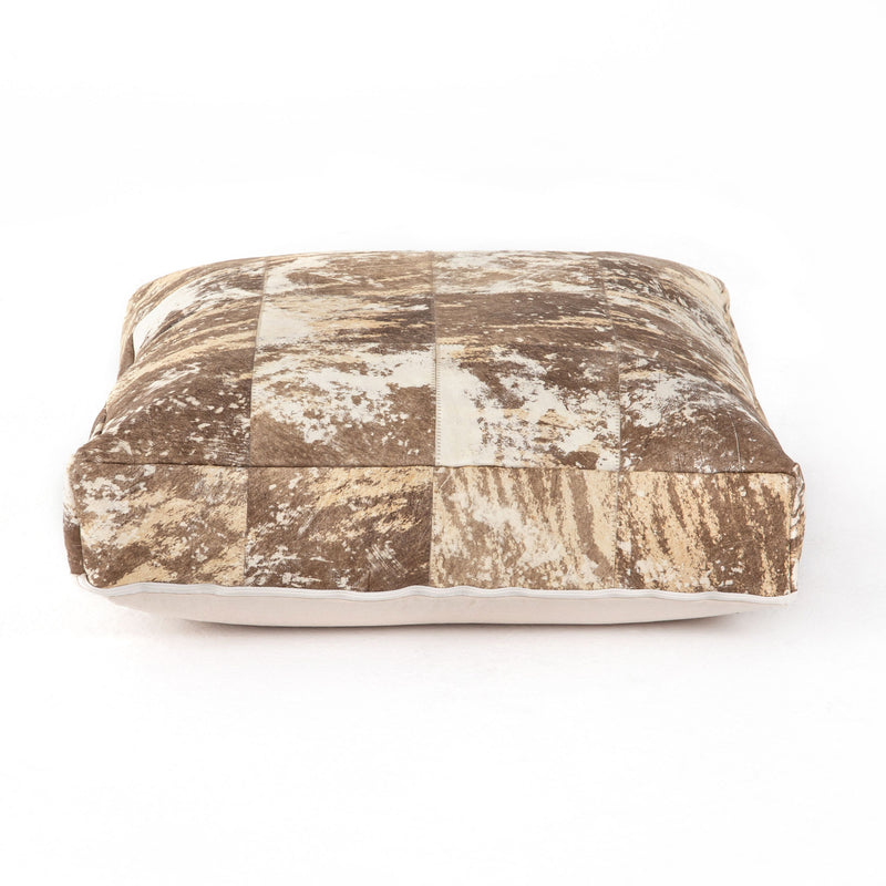 Harland Modern Hide Floor Cushion