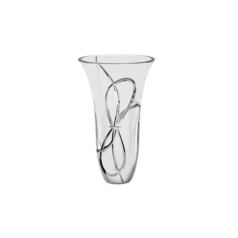 Love Knots 10in Vase by Vera Wang