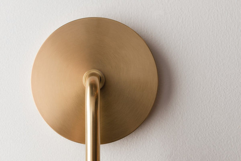 "Ava 1 Light Wall Sconce ""A"" Style"