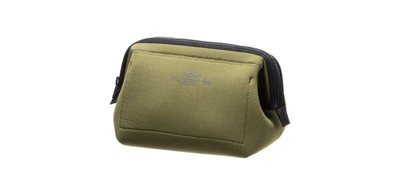 Wired Pouch Small Olive Yellow