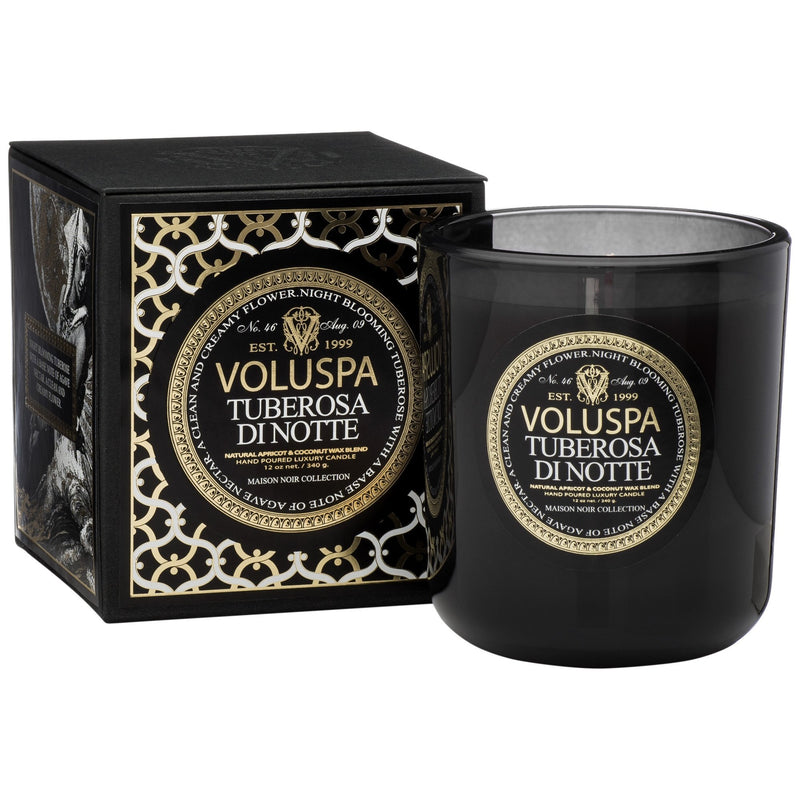 Classic Maison Candle in Tuberosa Di Notte design by Voluspa