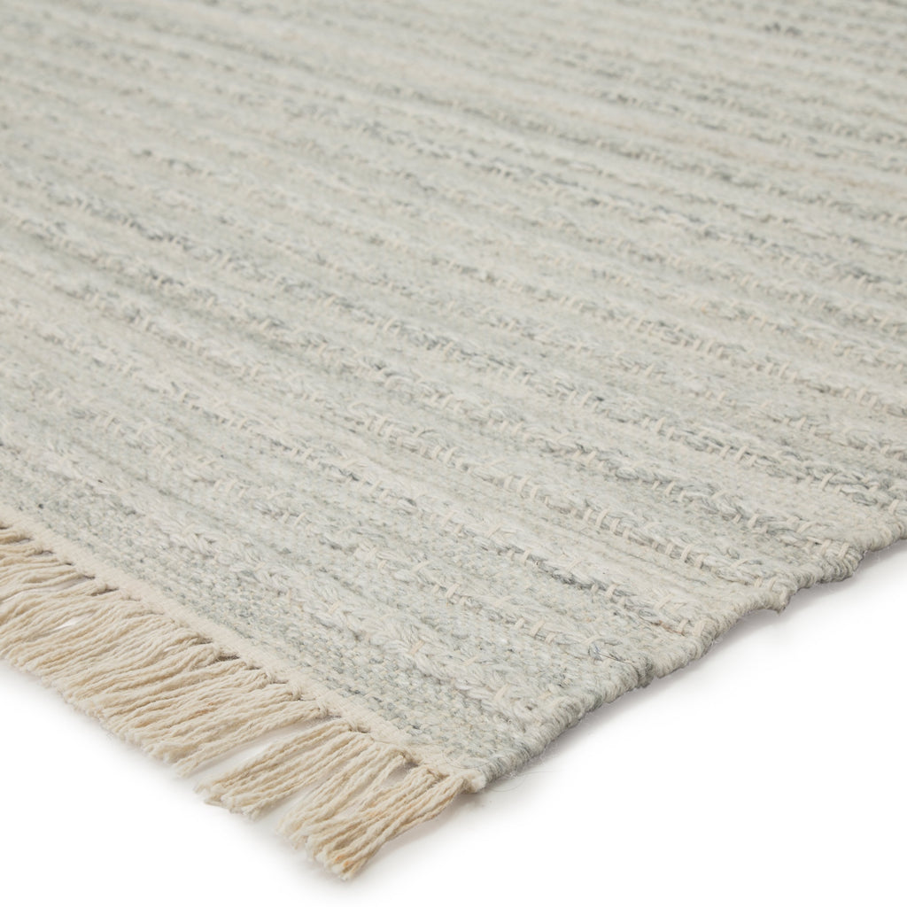 Torre Indoor/ Outdoor Solid Light Gray/ Cream Rug