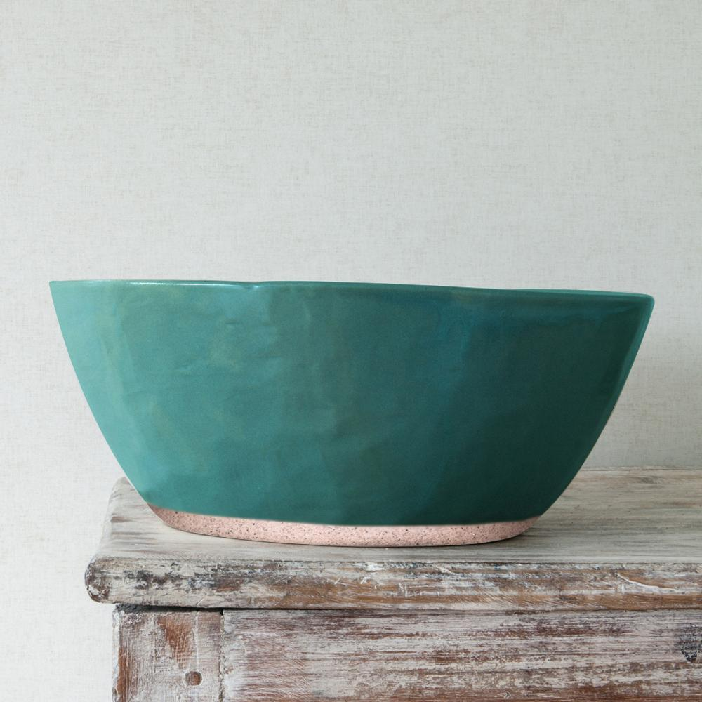 Organic Courgette Salad Bowl by BD Edition I