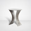 Drexel Iron Etch End Table in Antique Nickel