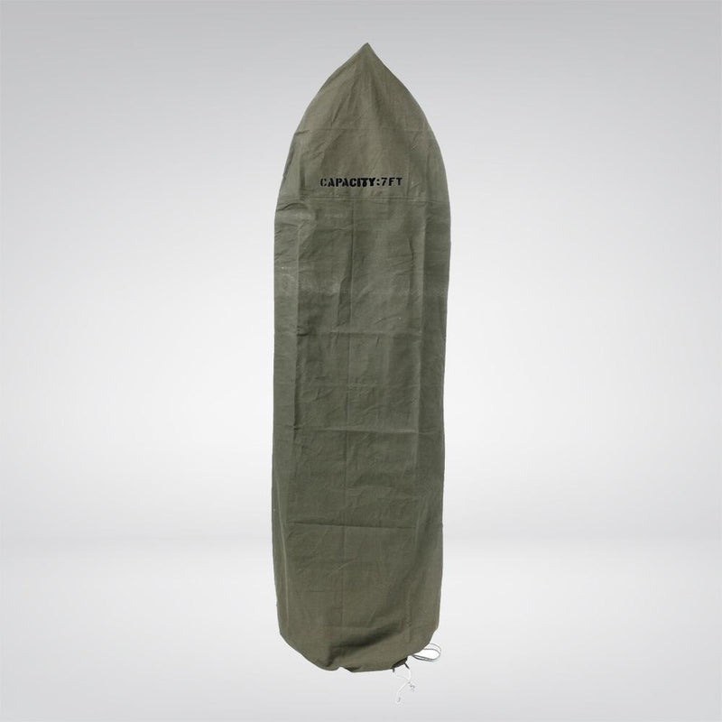 Green Canvas Surfboard Cover
