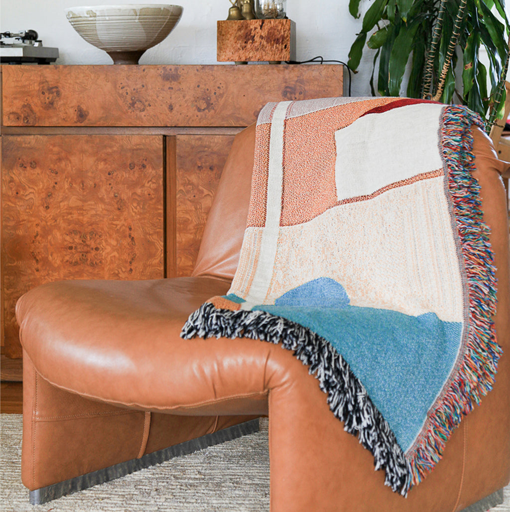 Fall Woven Throw