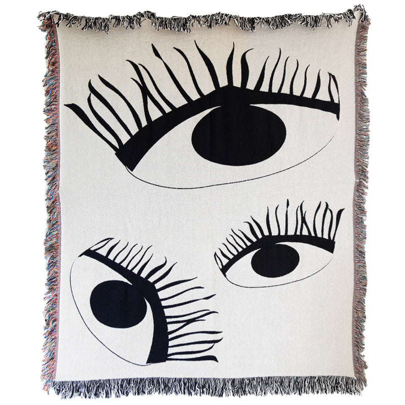 Third Eye Woven Throw
