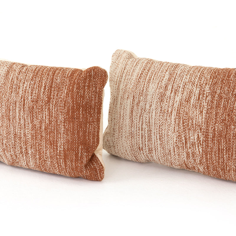 Tawny Ombre Pillow Set of 2