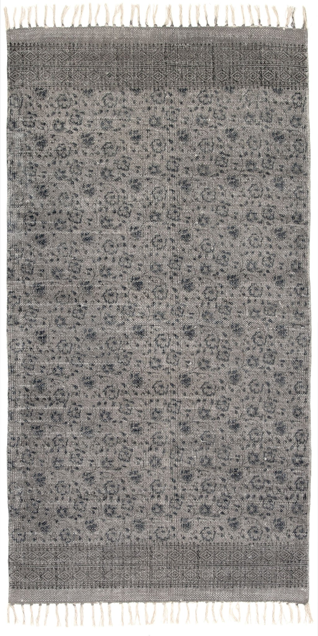 Flatweave Faded Print Runner