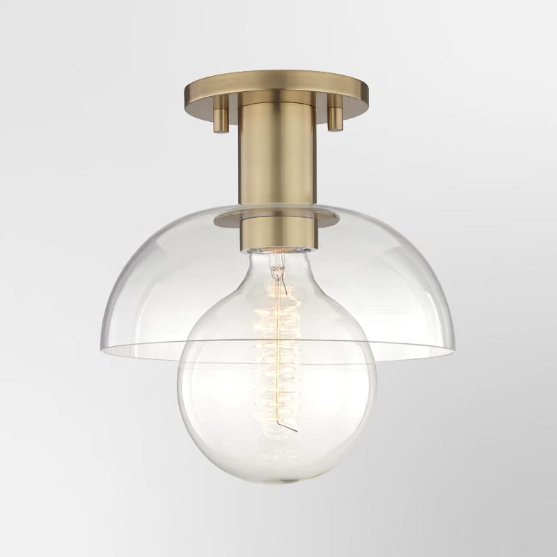 Kyla 1 Light Semi Flush