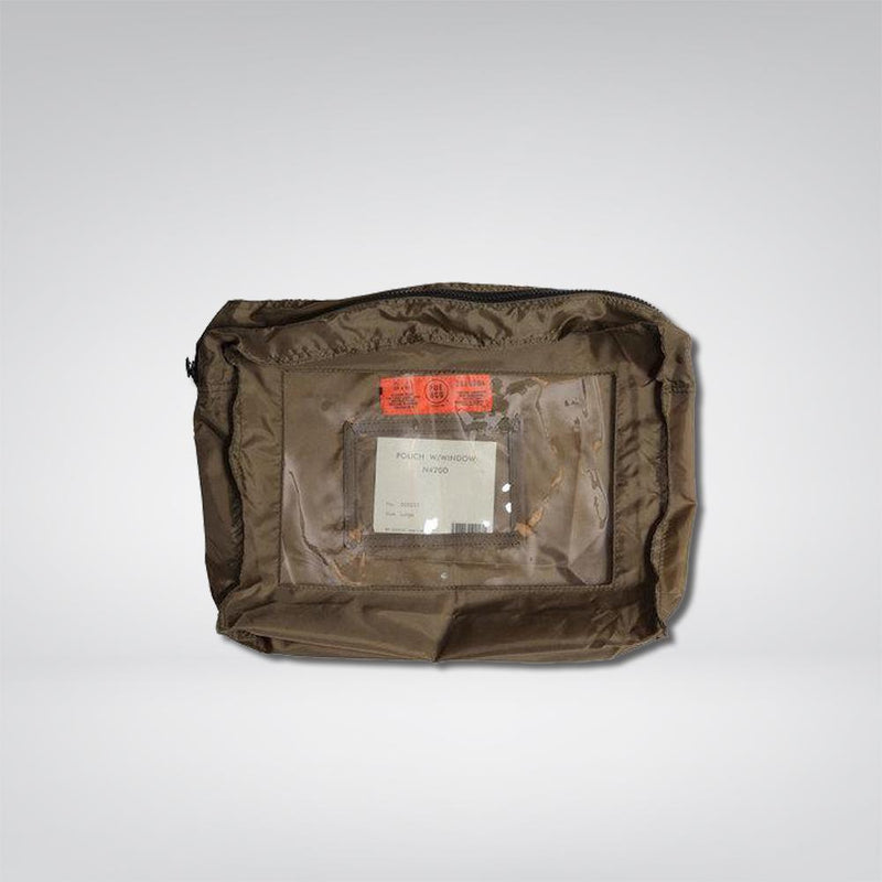 Large Pouch With Window