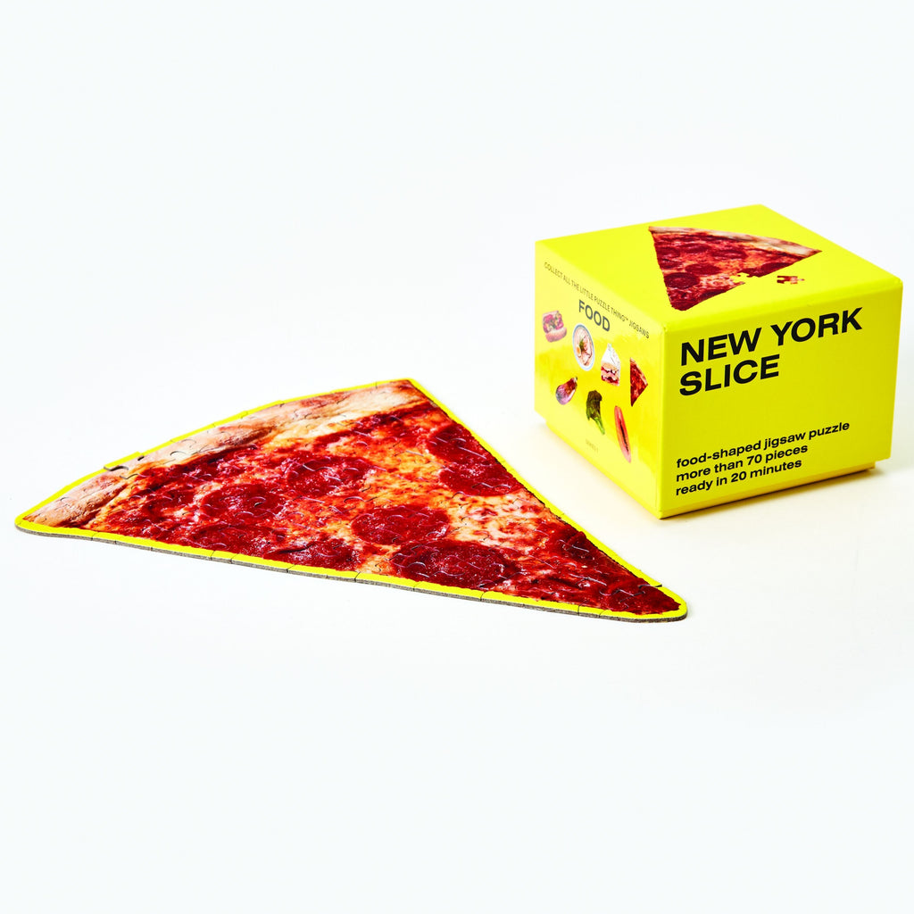Little Puzzle Thing™ - New York Slice design by Areaware