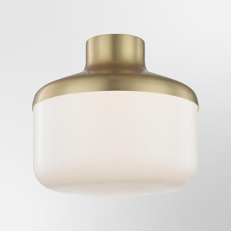 "Livvy 12"" 1 Light Flush Mount"