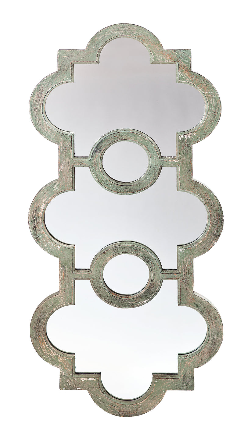 Trio Scalloped Mirror