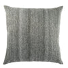 Scandi Solid Dark Gray & White Pillow