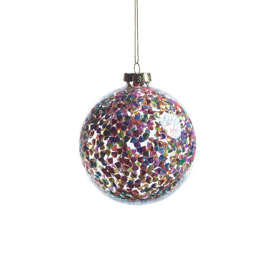 Multicolor Sequin Ornament by Panorama City