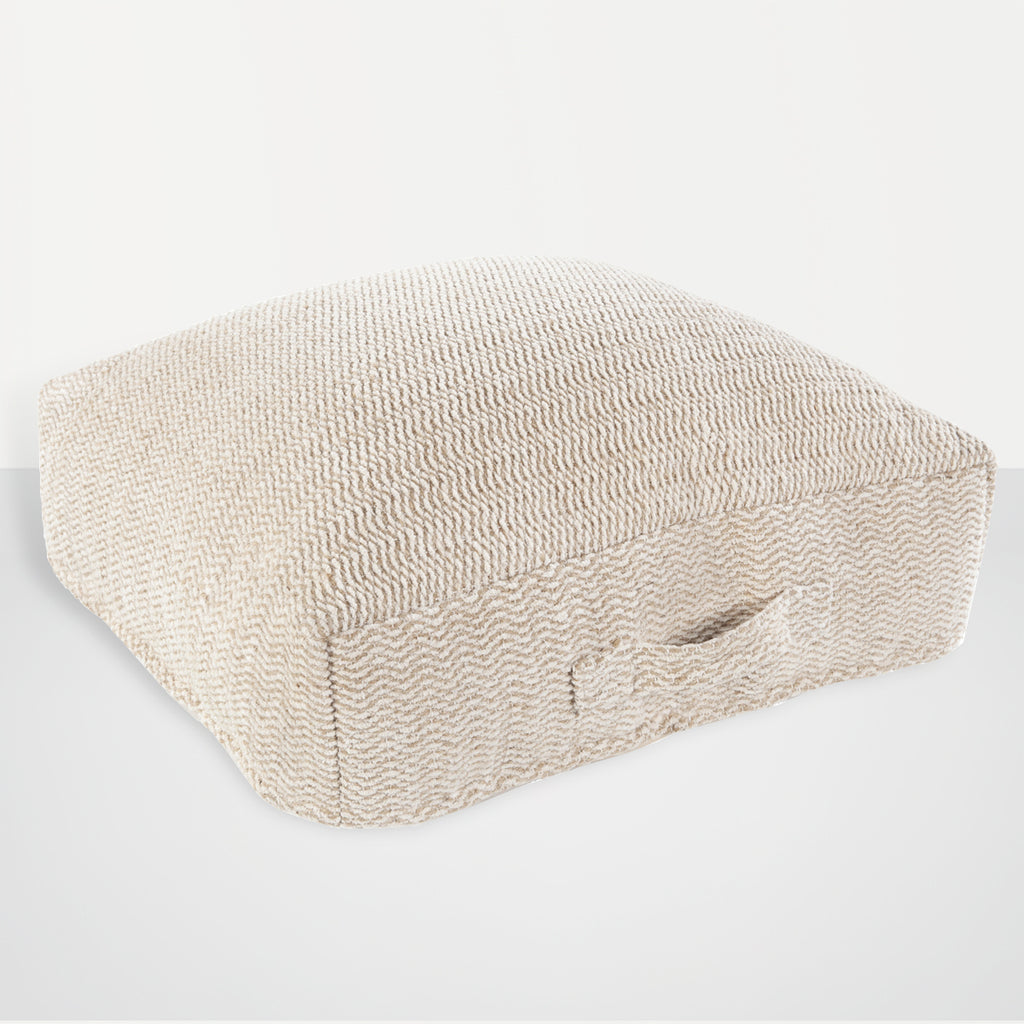 Palmetto Chenille-Cotton Floor Pillow