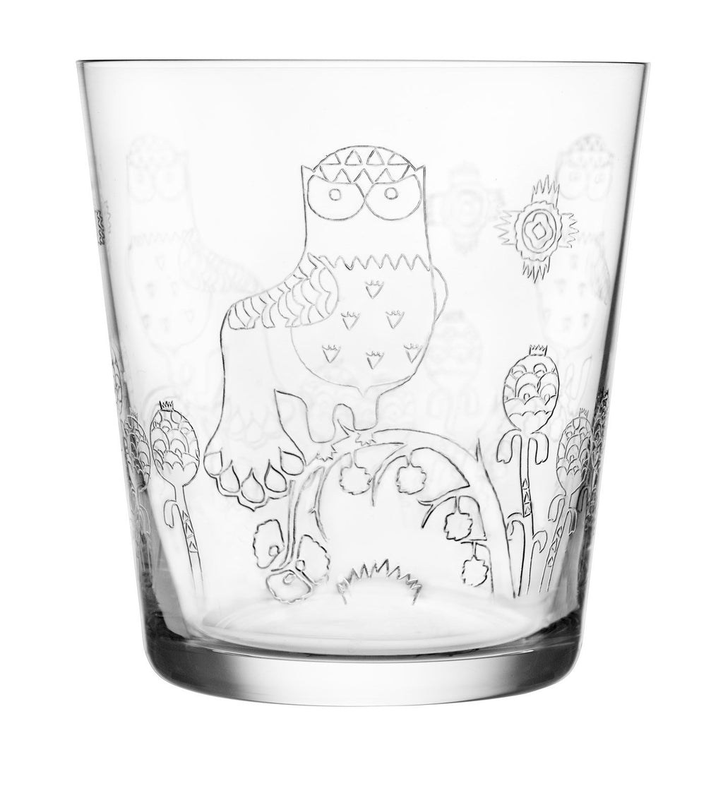 Taika Set of 2 Tumblers in Clear design by Klaus Haapaniemi for Iittala