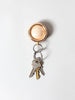 Timbre WAKKA Key Holder, Pink Gold/Maple