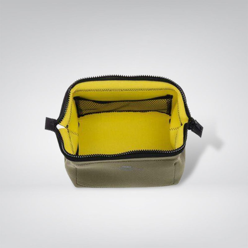 Wired Pouch - Small - Olive & Yellow