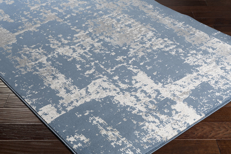 Amadeo Rug in Denim & Medium Gray