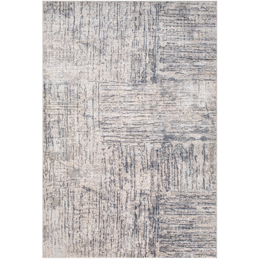Alpine Rug in Light Gray & Medium Gray