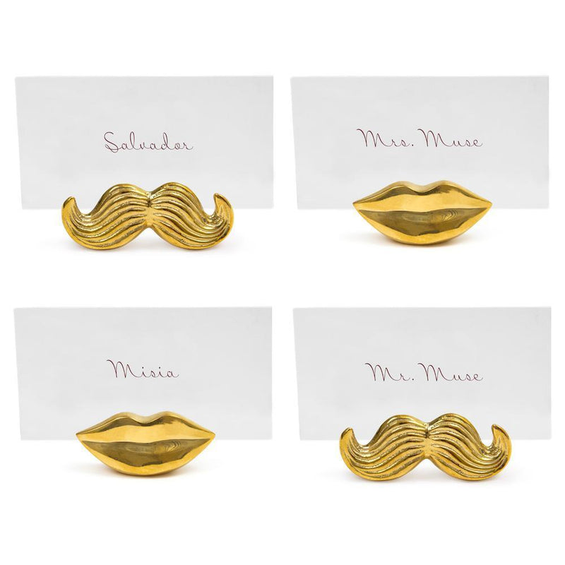 Muse Mr. & Mrs. Place Card Holder, Set of 4