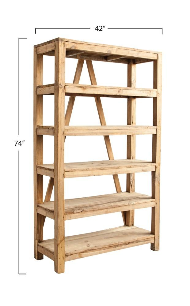 Found Wood Shelf