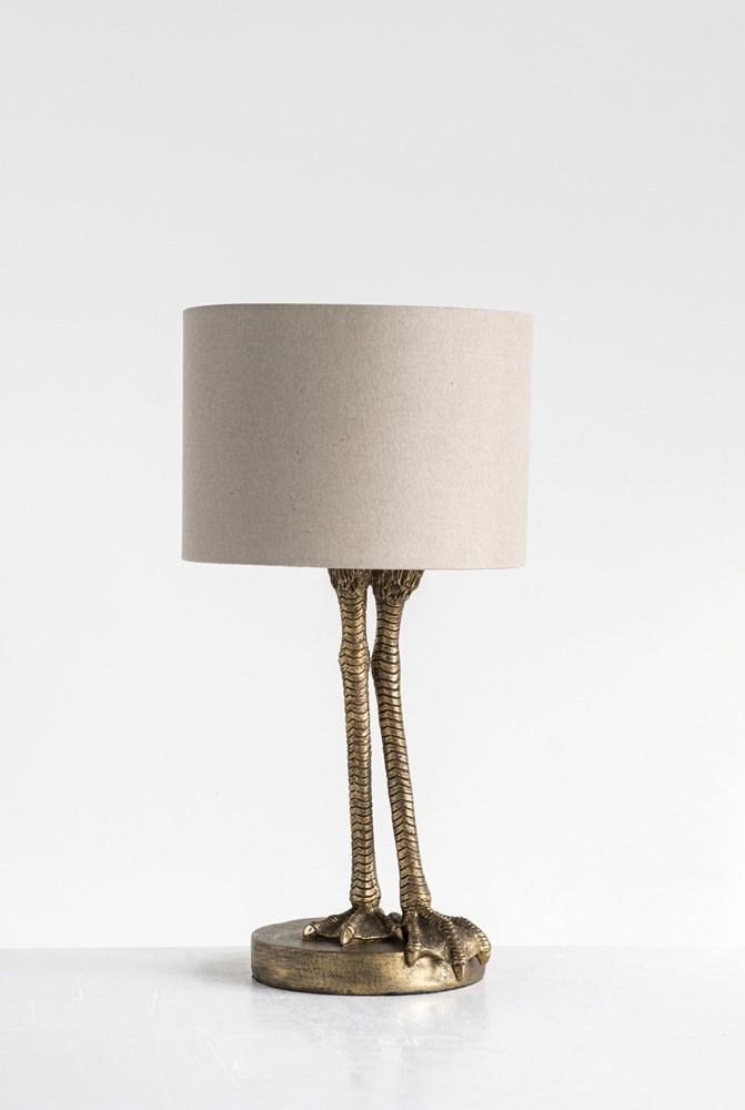 Bird Legs Table Lamp
