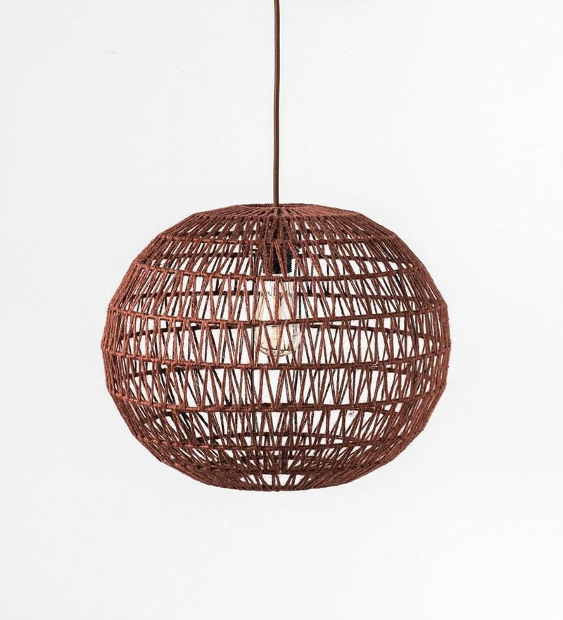 Sienna Hemp Rope Pendant Light