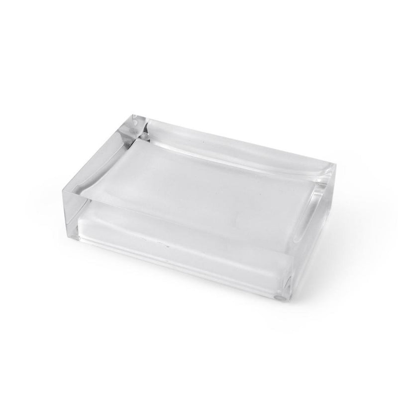Hollywood Soap Dish in Clear