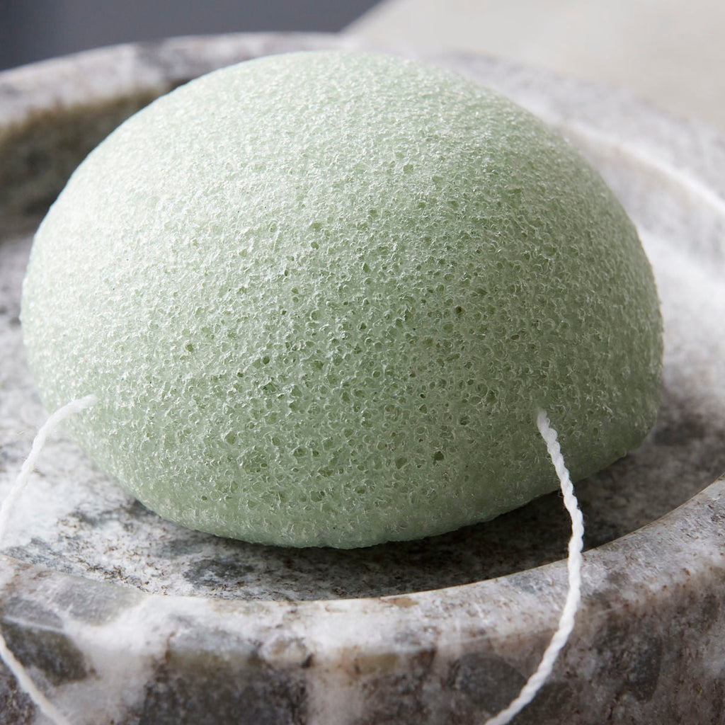 Meraki Konjac Sponge in Green