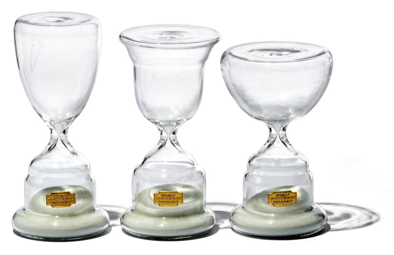 Trophy Shaped Sandglass White No 2