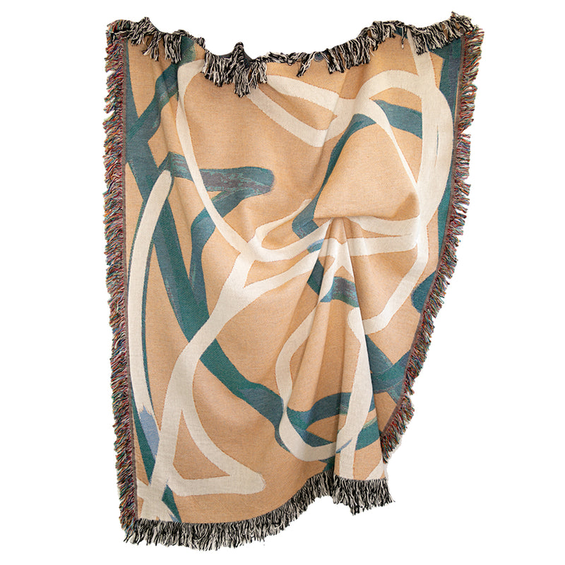 Meander Woven Throw