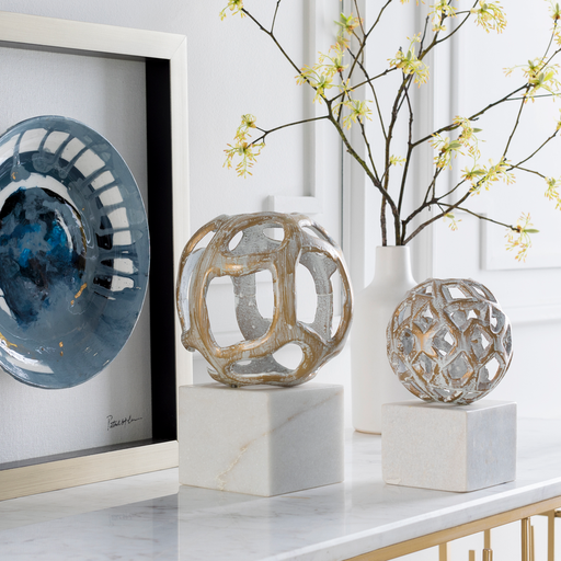 Orb Decorative Object in Various Sizes