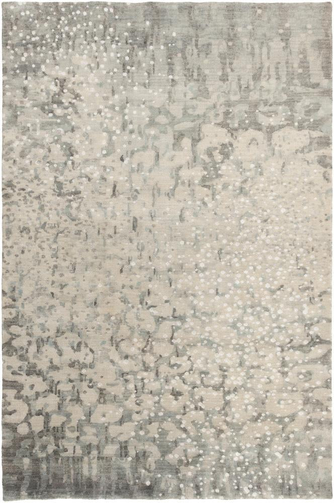 Watercolor Hand Knotted Rug
