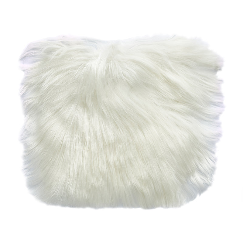white alpaca fur