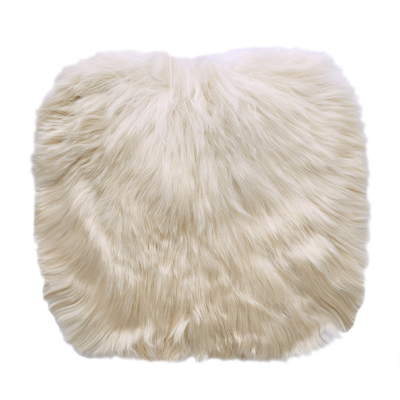 cream alpaca fur