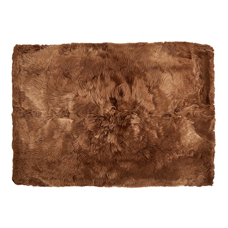 Alpaca Fur Throw
