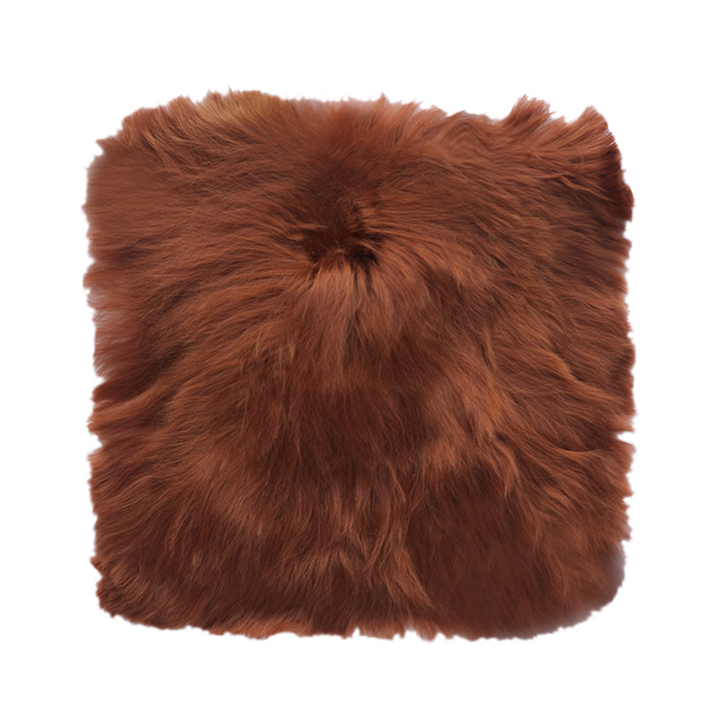 brown alpaca fur
